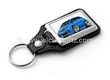 WickedKarz Cartoon Car Vauxhall Zafira Model B VXR/SRi in Arden Blue Key Ring