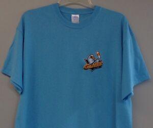 San Diego Gulls Embroidered T-Shirt WCHL ECHL Anaheim Ducks S-6XL, LT-4XLT New