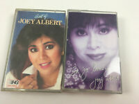 Joey Albert Cassette Lot of 2 Best of Sa Yo Lamang Audio Tape Filipino Music