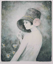 Listed French Artist Bernard CHAROY Original Signed Lithograph,