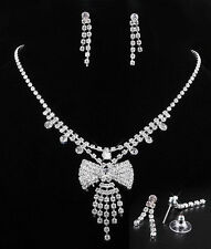 Rhinestone Sapphire Costume Necklaces & Pendants