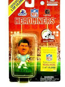 Junior Seau Corinthian NFL Headliners Sealed 1997