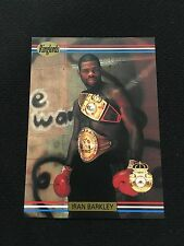 "IRAN ""THE BLADE"" BARKLEY ODD BALL USA 1991 RINGLORDS BOXING CARD"