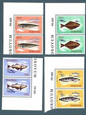 FAROE ISLANDS - 1983 - Pesci del mare faeroese
