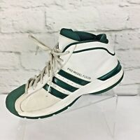 Classic 2004 Adidas Pro Model Fusion Mens 8.5 M Shoes White Green