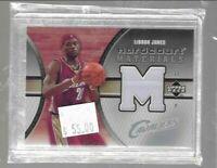 Lebron James 2005 Upper Deck hardcourt materials relic -- Cavaliers