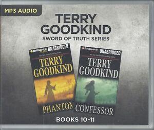 Terry Goodkind Sword of Truth Series: Books 10-11 Unabridged MP3 Audio Books