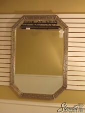 L1519:  FRIEDMAN BROTHERS #7075 Octagon Silver Bamboo Style Mirror-New
