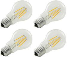 4 x Llyt LED GLS Filament Lamp - 4W LED E27(ES) 997.972