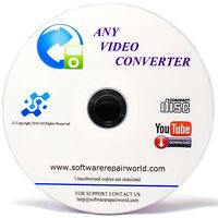 Ultimate Total Video File Converter - YouTube Downloaded CD Disc Disk