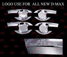 For ISUZU D-MAX PICKUP 4-door 2012 2013 2014 New Chrome Door Handle Cup Bowl