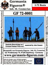 Germania Figuren 1/72 German Peasant Wars 3  #GF72-0003