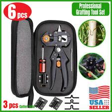 Garden Tree Grafting knife Pruning Pruner Shears Snip scissors Cutting Tool Kit