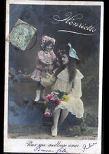 Prénom HENRIETTE / FEMME & ENFANT / Meilleure amie en 1906