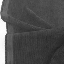 3m grau Mikro CORD weicher Baumwollstoff Hose Jacke Hemd Cordstoff vorgewaschen