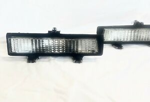 CHEVY MONTE CARLO SS Parking Lamps 81/88 Pair New Replaces 919025 919026