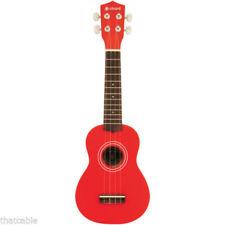 Guitares, basses et accessoires rouge 4 cordes