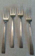 Oneida Brookwood Northland WMA Rogers set of 4 stainless steel dinner forks