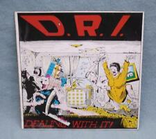 D.R.I. - DEALING WITH IT - VINYL LP 1988 ROADRUNNER RECORDS 9481