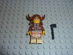 Personnage LEGO WESTERN INDIEN Minifig Réf ww019 Set 6748/2845/6718/6766/6763