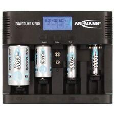 Ansmann Powerline 5 Universal Multifunción Iluminado Cargador de Batería
