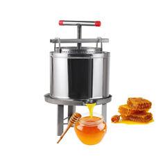 Honey Extractor Stainless Steel Manual Crank Honey Spinner Tangential Beekeeping