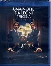 UNA NOTTE DA LEONI  La Trilogia (3 film) - BLU RAY NUOVO