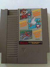 Nintendo Classic NES Duck Hunt World Class Track Meet Super Mario Video Game