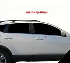 For Nissan Qashqai Facelift J10 2010-2014 Chrome Windows Frame Trim 4Pcs S.Steel