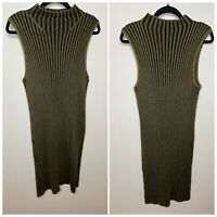 Rock & Republic Knit Sweater Turtle Neck Tunic Dress Women's Size XL