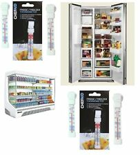 CHEF-AID Fridge/Freezer Thermometer Food Temperature Suction Hook Hanger Free PP