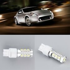 T20 7443 22SMD Dual Color Switchback Turn Signal LED Light Bulb White/Amber F7