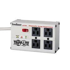 Tripp Lite Surge Suppressor ISOBAR4ULTRA 4-Outlet NEMA 5-15R 3330J 129V