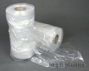 GARMENT COVERS FILM DRY CLEANERS CLEAR POLYTHENE PLASTIC BAGS CLOTHES BAG BAGS