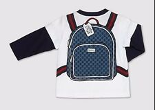 BNWT Beautiful Designer GUCCI Boys Top 3/6 Months  ITALY
