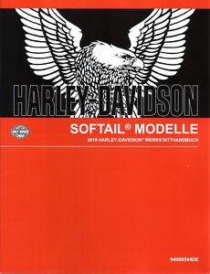 HARLEY-DAVIDSON Werkstatthandbuch 2019 Softail FXBRS Breakout 114 DEUTSCH Buch