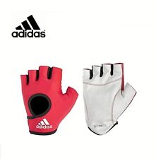 Adidas Essential Half Finger Gloves Weight Lifting Training Gym Fitness Sport