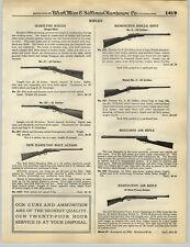 1932 PAPER AD Remington Benjamin Air Rifle Daisy BB Gun Pump Action Repeater