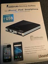 Universal Powerflash 1400mAh Battery Backup for iPhone, iPod, Smartphone and Usb