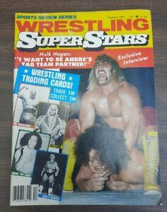 Sports Review Series Wrestling Superstars Magazine  Summer 1981