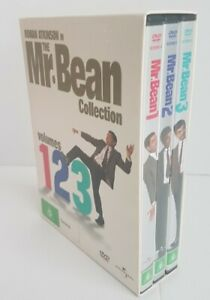The Mr Bean Collection DVDS Volumes 1, 2 & 3 Regions 2 & 4