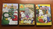 Lot of 3 Max and ruby dvds