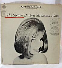Barbra Streisand The Second Barbra Streisand Album; Vinyl LP; 1963