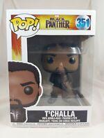 Marvel Funko Pop - T'Challa (Black Robes) - Black Panther - No. 352