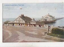 Herne Bay The Pier Kent Vintage Postcard 546b