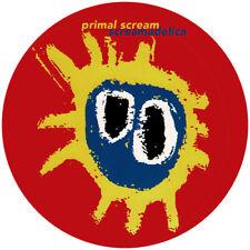 Primal Scream. Repro record label sticker. Screamadelica