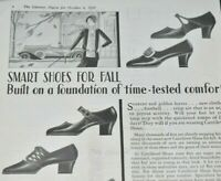 1928 Cantilever Shoes For Fall Men Women Children Brooklyn NY Vintage Print Ad