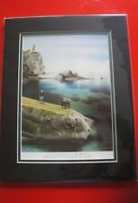 No.13 Lake Superior Yacht & Country Club 11x14 Matted Lithograph Print