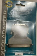 New listing Scsi-I to Scsi-Ii Adapter Micro Db50 Male To Centronics 50 Famele Adapter