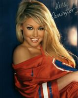 Kelly Carrington Signed 8x10 Photo #65C Playboy Playmate of the Month October 08